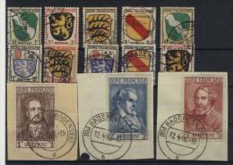 Allgemeine Ausgaben Michel No. 1 - 13 gestempelt used / No. 5, 11, 12, 13 gepr�ft BPP