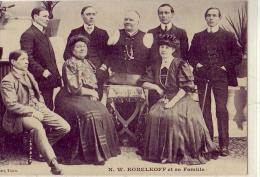 Personnages Curieux    M. Kobelkoff Et Sa Famille - Cartes Postales