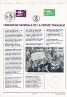 """Document Officiel DPO De 1994 N° 21 94 550 """" LA PRESSE FRANCAISE """" N° YT 2917 + Prix Dégressif ! - Documenten Van De Post"""
