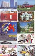 7000 TELECARTES Japon (Lot Z-837) 7000 Japan Phonecards * TK * Nombreux Thèmes - Télécartes