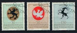 Liechtenstein  1969  Yv. 462/464 (o) - Liechtenstein