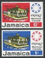 Jamaica. 1967 World Fair, Montreal. MH Complete Set - Jamaica (1962-...)