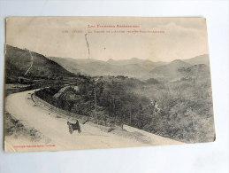 Carte Postale Ancienne : FOIX : La Vallée De L'Ariège Vers St Paul St Antoine , Attelege - Foix