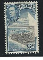 Ceylon   ... SG  ... 388 Plate Error  ....  * .... Ongebruikt ...  Mint   ...   Neuf *  ...  Ungebraucht - Ceylon (...-1947)