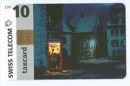 Telecarte Suisse Se 9 Cabine Dans La Rue - Schweiz
