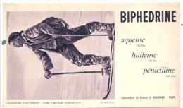 - Buvard Pharmacie - Produits Paharmaceutiques -  BIPHEDRINE  Bouchara - Chemist's