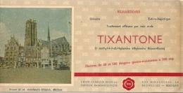 - Buvard Pharmacie - Produits Paharmaceutiques - TIXANTONE - Produits Pharmaceutiques
