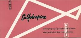 - Buvard Pharmacie - Produits Paharmaceutiques - SOLFOTROPINE - Chemist's