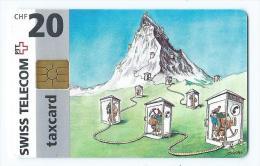 Telecarte Suisse Se 7 Montagne - Svizzera