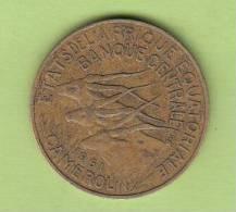 Pièce - Cameroun - Etat De L´Afrique Equatoriale - 10 Francs - 1961 - Camerún