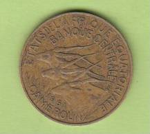 Pièce - Cameroun - Etat De L´Afrique Equatoriale - 10 Francs - 1961 - Camerun