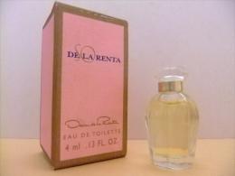 MINIATURE  EAU DE TOILETTE - SO DE LA RENTA - OSCAR DE LA RENTA - PARIS - 0.13 Fl Oz  4 Ml  -  ECHANTILLON DE COLLECTION - Miniaturas Mujer (en Caja)