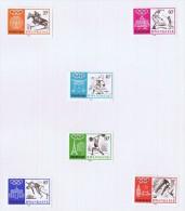 1968  Histoire Des Jeux Olympiques * - 1962-69: Mint/hinged