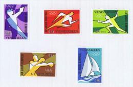 1968  Jeux Olympiques De Mexico   Tir Au Pistolet, Course, Escrime, Boxe, Voile  * MH - Panama