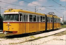 SZENTENDRE (HONGRIE) TRAMWAYS - Détails Sur Le 2ème Scan - Lot De 2 CPM - Strassenbahnen