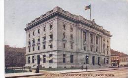 Nebraska Lincoln Court House &amp  Post Office 1910