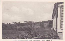 New York Saint Josephs Toward Sanitorium From Priests Residence