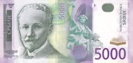 SERBIA P. 45a 5000 D 2003 UNC - Serbien