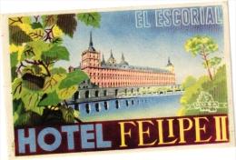 11  Hotel Labels - Etiketten ESPANA -Niza San Sebastian - Orly - Rex Madrid - Tarragona - Gerona - LLanes - Irun - - Hotel Labels
