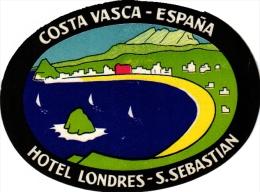 11  Hotel Labels Espana Spain Spanje Espagne   FLOrido - Estartit  Torremolinos San Sebastian Cordoba Varna Montserrat - Hotel Labels
