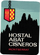 10  Espagna Spain Spanje Espagne   Manresa Madrid Montserrat Granada LLanes Cordoba Laredo Loyola - - Hotel Labels