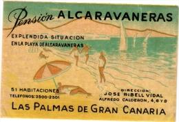 10  Hotel Labels Espagna Spain Spanje Espagne  Gran Canaria - Estorit - Tayitip - Figueiro - Rodrigues - Estatus - Hotel Labels
