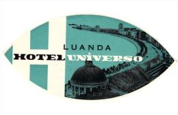 4   Hotel Labels - Etiketten Gran Canaria - Orotava - Santa Brigida -  1 Chromo Pub Les Iles - Hotel Labels