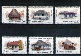 1986-  MUSEE D ARCITECTURE Mi 4275/4280 Et Yv 3684/3689 MNH - 1948-.... Republiken