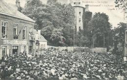 Ecaussinnes - Le Goûter Matrimonial - La Foule 1906 - Carte Oblitérée En 1911 ( Voir Verso ) - Ecaussinnes