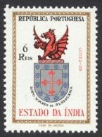 Portuguese India, 6 R. 1958, Sc # 561, Mi # 526, MH - Portuguese India