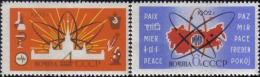 1962 Atom For Peace Energy Lomonosov University Russia Stamp MNH - Russia & USSR