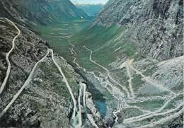 NORVEGE NORWAY Norge-ROMSDAL (B) TROLLSTIGVEGEN (TROLLSTIGEN) Mountain Road  (ANDALSNES To Valldal) - Norvège