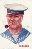 C.P. Fantaisie - Militaria - Illustrateur Emile DUPUIS - Ed COLOR , Paris - N° 51 - Marin Anglais   (3325) - Dupuis, Emile