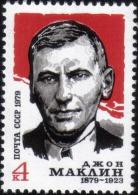 1979 Birth Centenary John McClean Consul Russia Stamp MNH - Russia & USSR