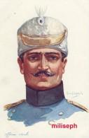 C.P. Fantaisie - Militaria - Illustrateur Emile DUPUIS - Ed COLOR , Paris - N° 52 - Officier Serbe  (3326) - Dupuis, Emile