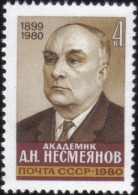 1980 Academician A.N.Nesmeyanov 1899-1980 Russia Stamp MNH - Russia & USSR