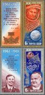 1981 Cosmonautics Day Space Rocket Satellite Russia Stamp MNH - Russia & USSR