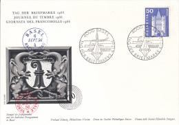 Switzerland Special Cachet: 1966 Tag Der Briefmarke (B374) - Suisse