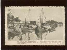 Oh Litanie Del Mare ...signée G.bertacchi écrite De Brindisi ,édit. C.C.N. N° 248  Bateaux - Brindisi