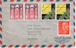 Schöner Brief  Ab Palma De Mallorca  Nach Frankfurt, Deutschland, Siehe Scan, Los 39146 - 1931-Heute: 2. Rep. - ... Juan Carlos I