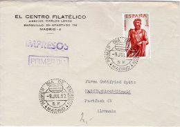 Ersttagsbrief Ab Madrid Nach Kassel,Deutschland, Siehe Scan, Los 39147 - 1931-Heute: 2. Rep. - ... Juan Carlos I