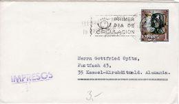 Bedarsbrief Ab  Madrid  Nach Kassel -  Deutschland, Siehe Scan, Los 39159 - 1931-Heute: 2. Rep. - ... Juan Carlos I