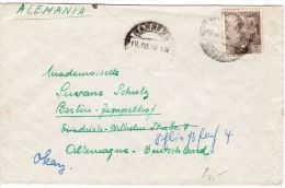 Bedarsbrief Ab  Barcelona  Nach Berlin -  Deutschland, Siehe Scan, Los 39161 - 1951-60 Briefe U. Dokumente