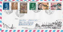 8.8.1981, Schöner Brief  Ab  Barcelona  Nach Heilbronn, Deutschland, Siehe Scan, Los 39168 - 1931-Hoy: 2ª República - ... Juan Carlos I