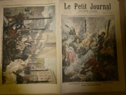 10-5-1897 LE PETIT JOURNAL : Incendie Du BAZAR De La CHARITE; Le Dernier Survivant De Waterloo;Konan Le Breton - Le Petit Journal
