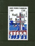 Timbres De St Pierre Et Miquelon  De 1991  N°554  Neufs ** Parfait, Prix De La Poste - St.Pierre & Miquelon
