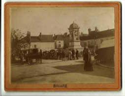 Photographie 19ème Siècle _ Briare _ Marché _ Etat Superbe - Briare