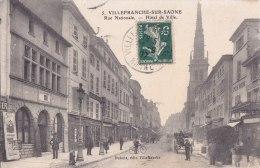 ¤¤  -   VILLEFRANCHE-sur-SAONE   -   Rue Nationale   -  Hôtel De Ville   -  ¤¤ - Villefranche-sur-Saone
