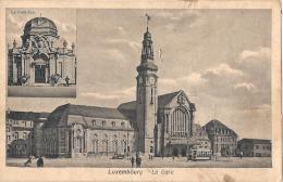 LUXEMBOURG  La Gare Et Le Pavillon  écrite TTB - Bettembourg