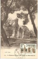 N°Y&T 1130  TP+CACHET+ CP CORRESPONDANTE (document Philatélique) - Storia Postale